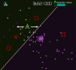 Screenshot of the Omega Cluster