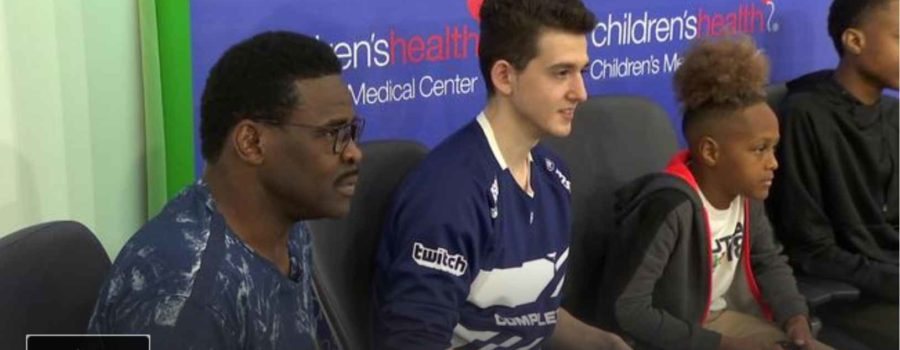 Playmaker Helps Fight Cancer news feature