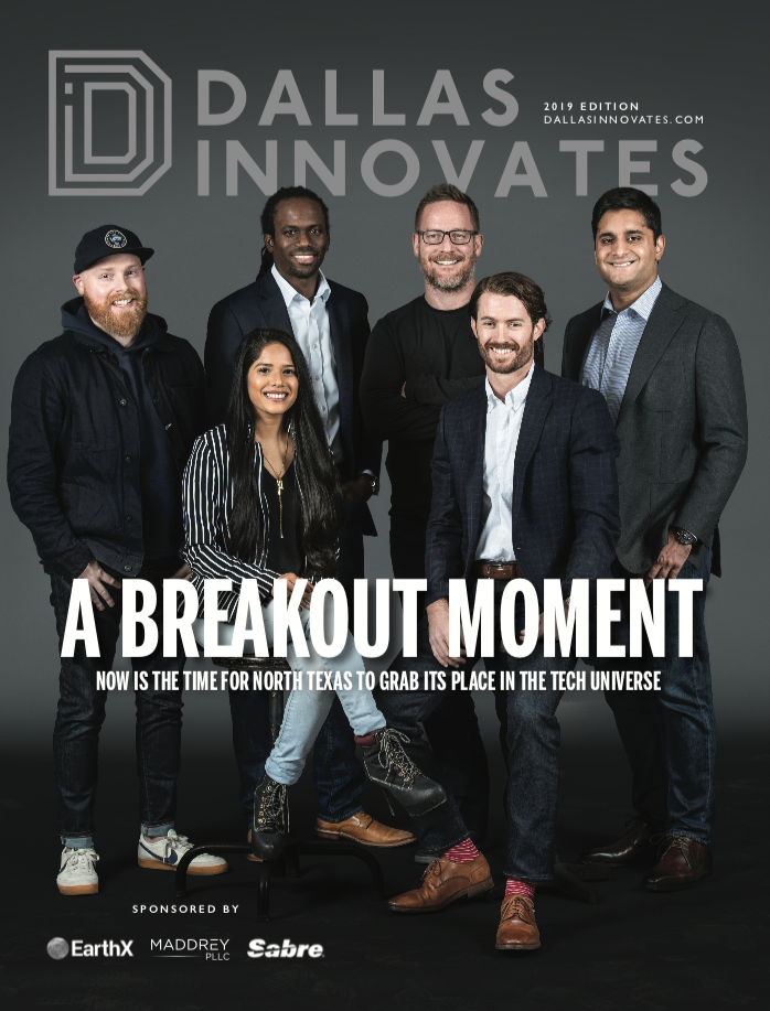 Dallas Innovates Magazine Cover